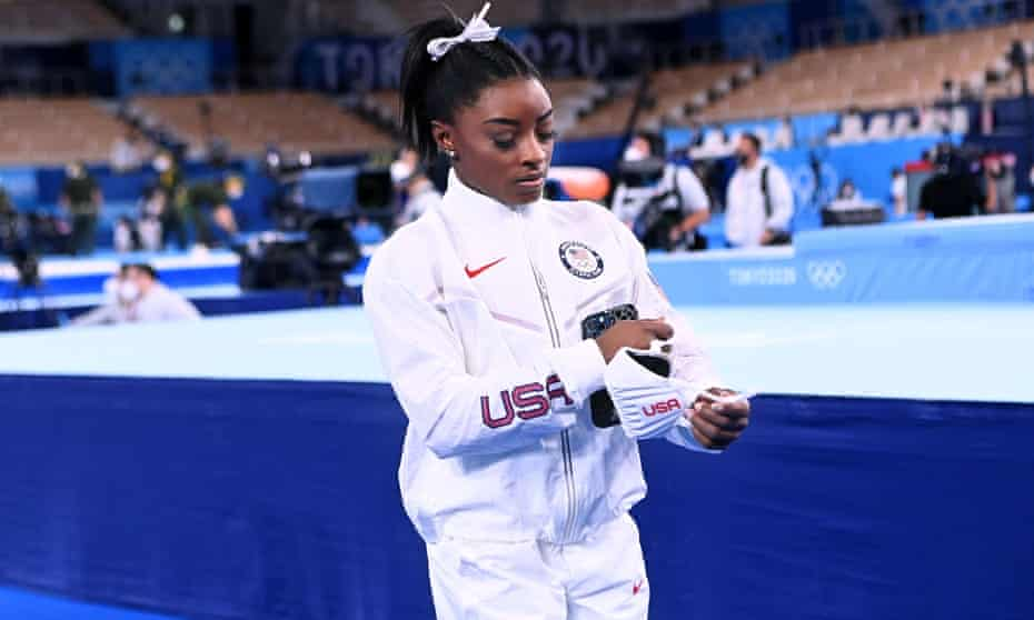 Simone Biles has spoken about the importance of mental health