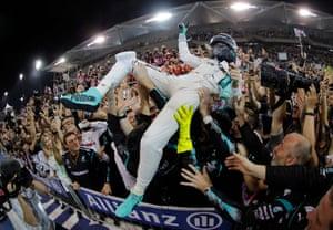Nico Rosberg, World champion.
