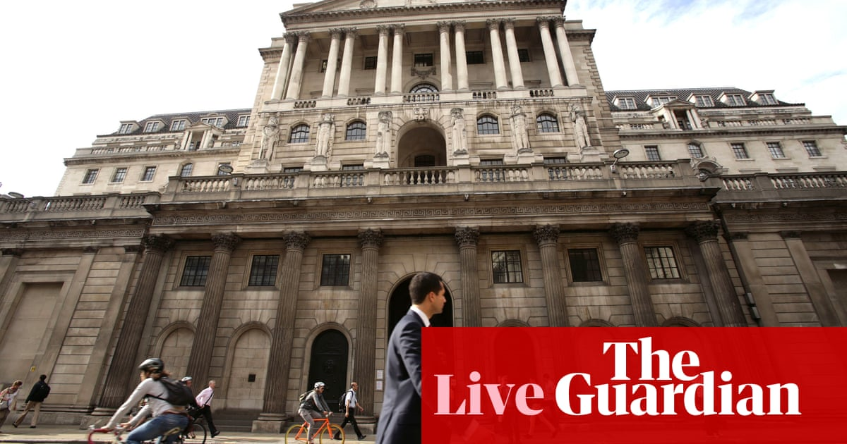 Bank of England predicts interest rate rises after 'smooth Brexit' – business live
