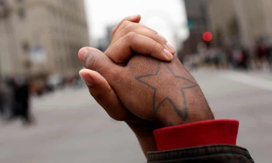 ferguson hands holding