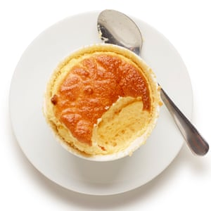 Not so hard when you know how: Felicity Cloake's cheese souffle.