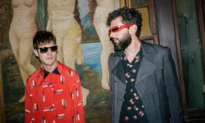 New management … Ben Goldwasser and Andrew Van Wyngarden, AKA MGMT