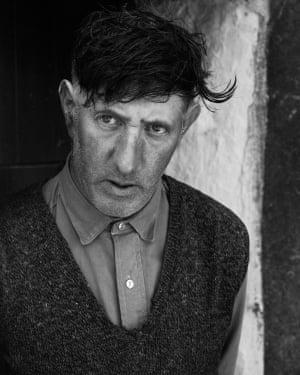 Mr. Johnny Moore, Ballalonna, Isle of Man, 1971