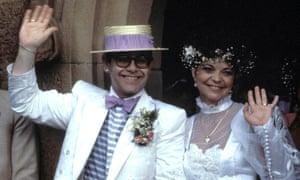 Elton John and Renate Blauel