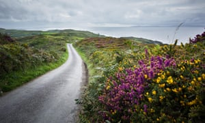 'The view never fails to take my breath away': empty roads and blooming verges on Cape Clear.