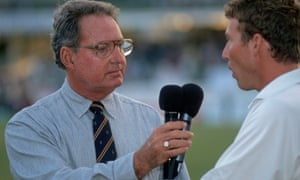 Tony Cozier and Mike Atherton