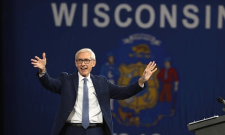 Tony Evers, a Democrat, won the election for Wisconsin governor.