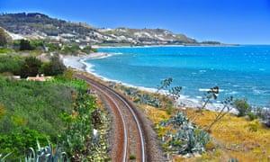 Take the coastal track in Calabria, Italy.