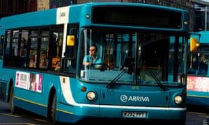 An Arriva bus.