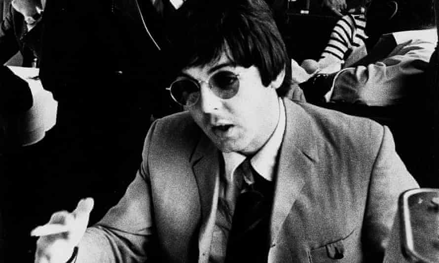 Paul McCartney on tour in 1966