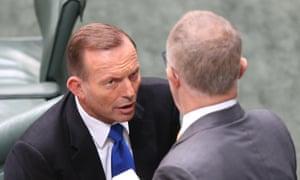 Tony Abbott Malcolm Turnbull