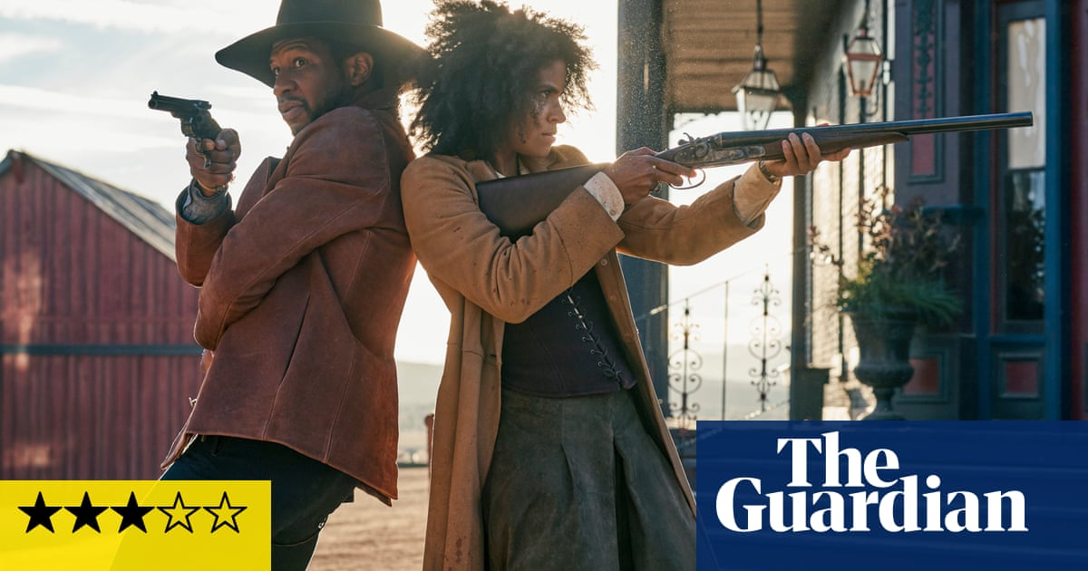 The Harder They Fall review – Idris Elba rides into trouble in garishly violent western