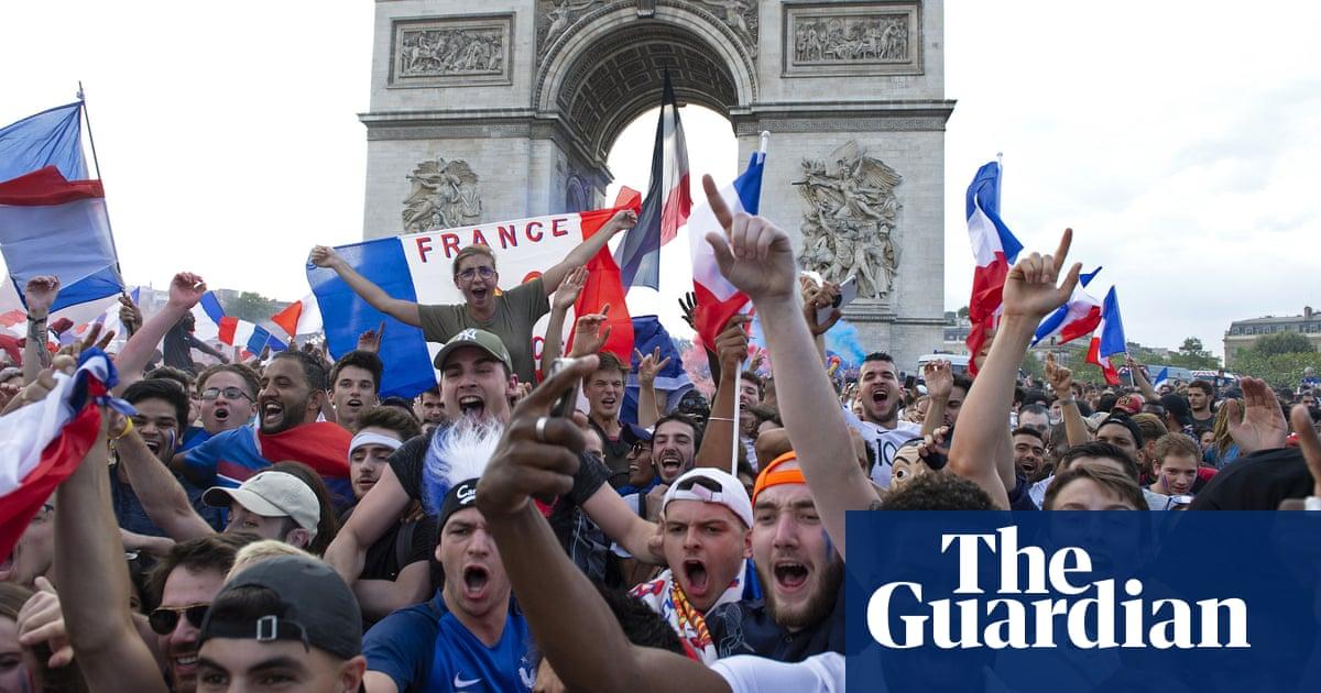 Paris celebrates World Cup win as one million fans fill Champs-Élysées