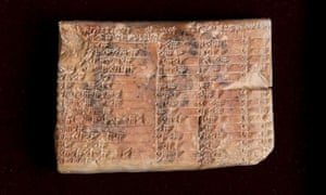 The tablet could have been used in surveying, and in calculating how to construct temples, palaces and pyramids.