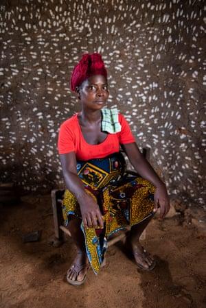 Patience Darway, 35 in Morris Town, Rivercess county, Liberia.