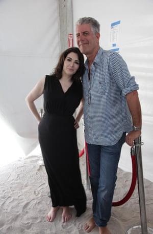 Nigella Lawson and Anthony Bourdain in 2013