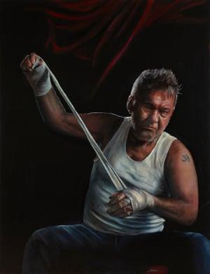 Jimmy (Title Fight) by Jamie Preisz; sitter: Jimmy Barnes