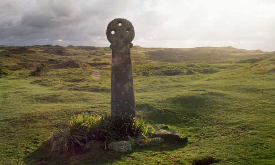 St Piran's Cross, near Perranporth
