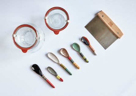 Weck jars, Paul Hollywood dough cutter, Shino Takeda spoons