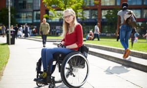 Alice Dunn faced seven months on a waiting list for a wheelchair from the NHS.
