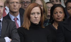 Jen Psaki was a White House communications director
