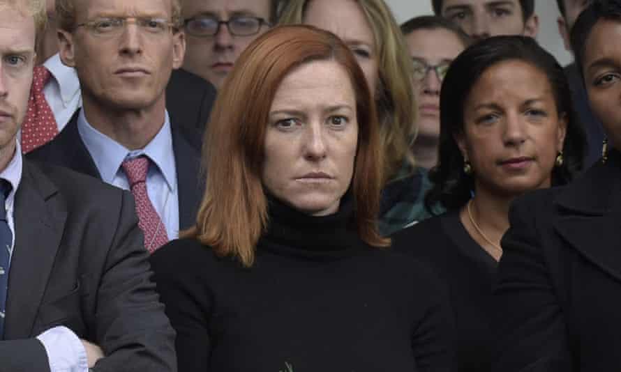Jen Psaki was a White House communications director
