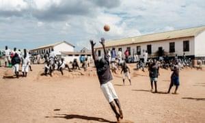 Maula prison sport day