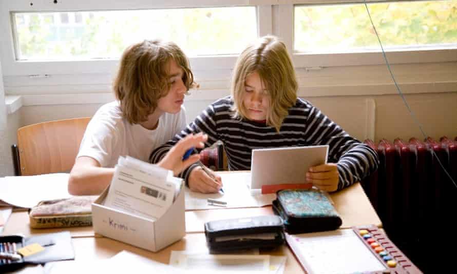 pupils at the ESBC