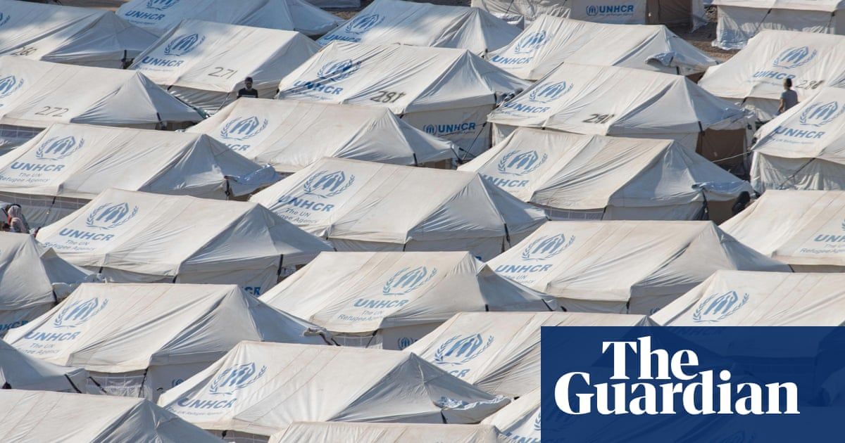 Woman who set herself on fire in Lesbos refugee camp charged with arson