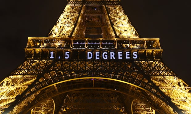 theguardian.com - Damian Carrington - Ambitious 1.5C Paris climate target is still possible, new analysis shows