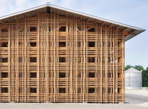 Barn B at Mason Lane Farm, Goshen, KY, USA, De Leon & Primmer Architecture Workshop, 2009