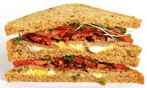 An all-day breakfast sandwich