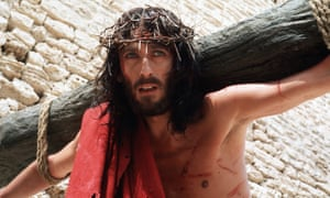 … Robert Powell as Jesus of Nazareth in the 1977 TV miniseries.