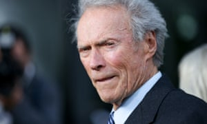 In his sights … Clint Eastwood at the LA premiere of Sully.