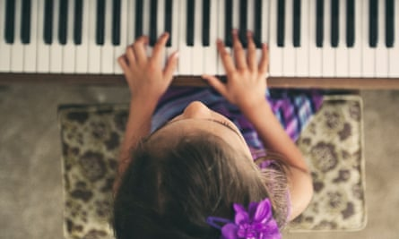 Key change … more girls than boys are now taking GCSE music.