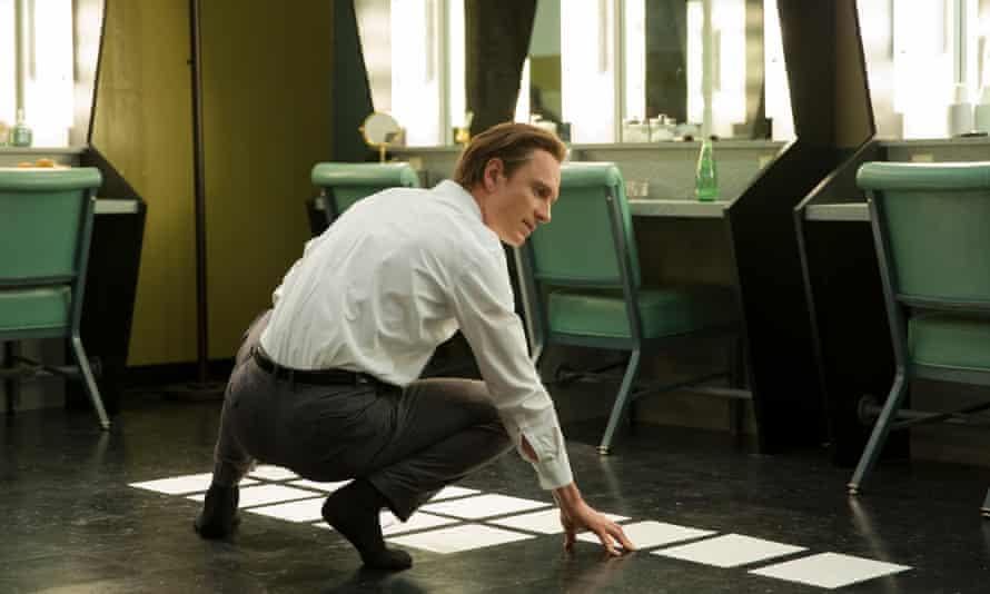 'Was he flawed? Yeah! We all are' … Michael Fassbender as Steve Jobs.
