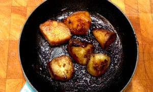 Anthony Bourdain fondant potatoes.