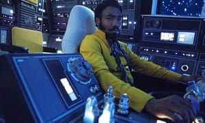 Donald Glover as Lando Calrissian in Solo: A Star Wars Story.