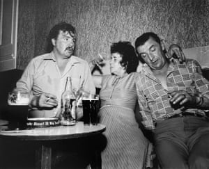 I thought I saw Liz Taylor and Bob Mitchum in the back room of the Commercial, South Bank, 1984