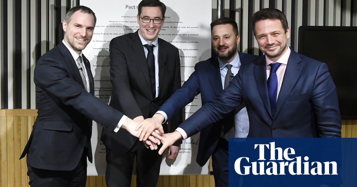 Islands in the illiberal storm: central European cities vow to stand together