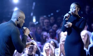 Gong girl: Jorja with Stormzy at the Brits.