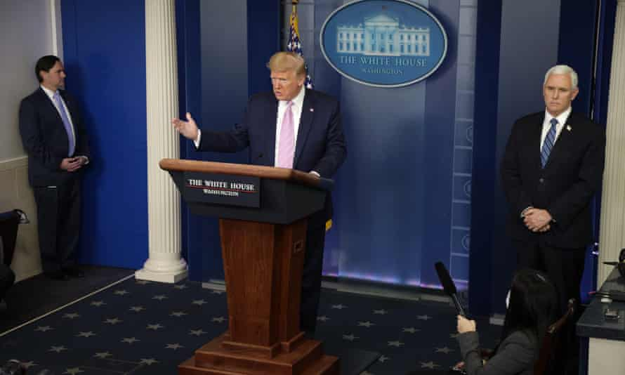 At a recent press briefing Trump unleashed an angry torrent at Atkinson's handling of the whistleblower complaint.