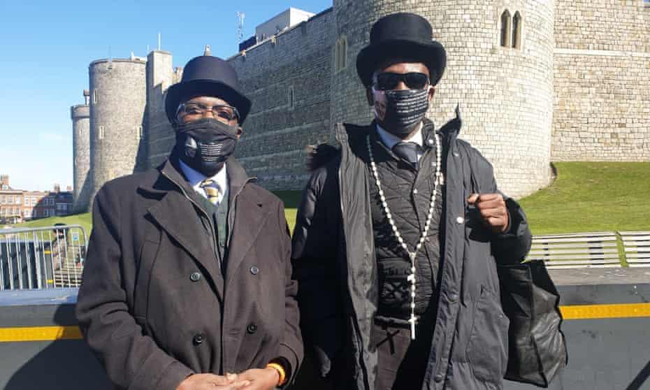 Chris Imafidon and Sir Gerard Etiobio