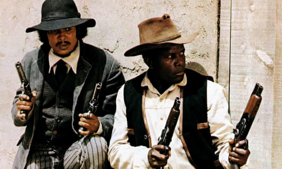 Uncontested lead ... Harry Belafonte and Sidney Poitier in Buck and the Preacher (1972).