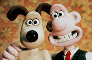 Wallace and Gromit, created by Nick Park