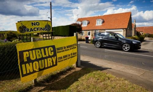 Yorkshire Village Faces Petrochemical Giant In Anti Fracking Fight Environment The Guardian