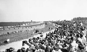 Silverstone hosted the first grand prix in May 1950.