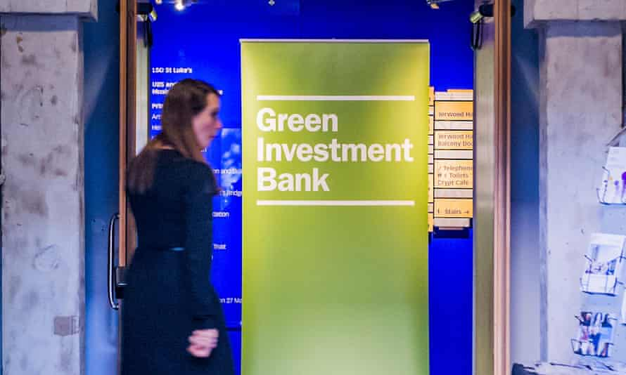 The £3.8bn green investment bank was set up in 2012 to 'accelerate the UK's transition to a greener, stronger economy'.