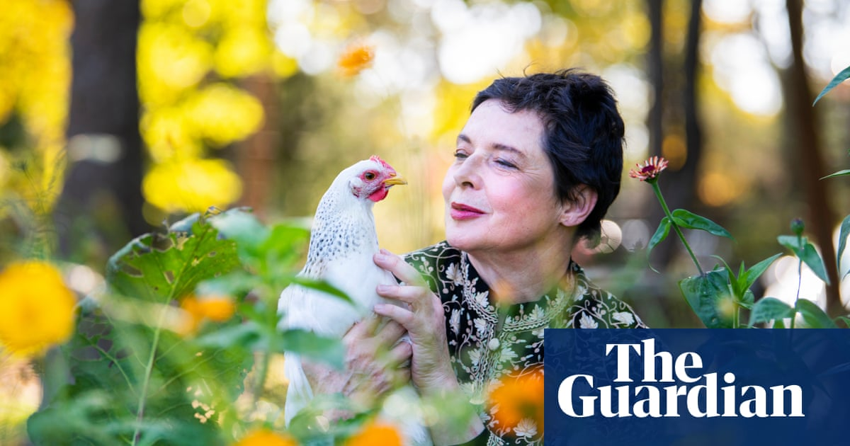 Isabella Rossellini: 'Ageing brings a lot of happiness. You get fatter – but there is freedom'