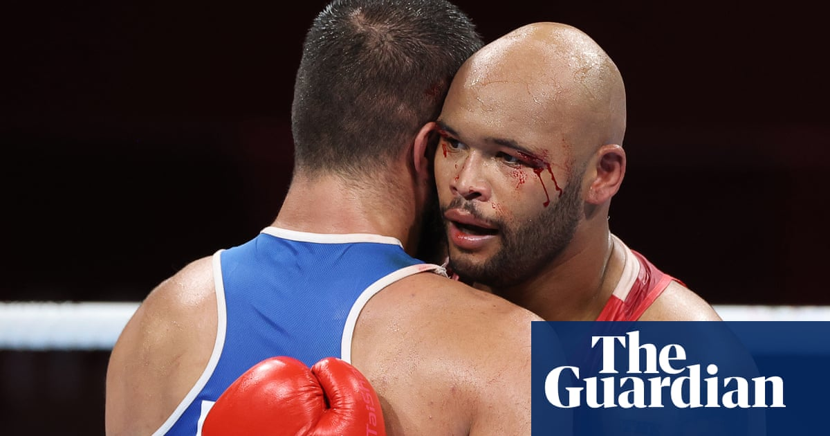 Team GB's Frazer Clarke gets boxing medal shot as furious opponent stages sit-down protest
